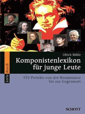 cover image of Komponistenlexikon für junge Leute