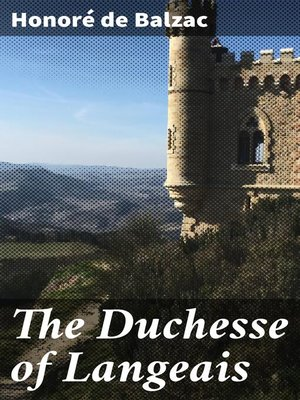 cover image of The Duchesse of Langeais