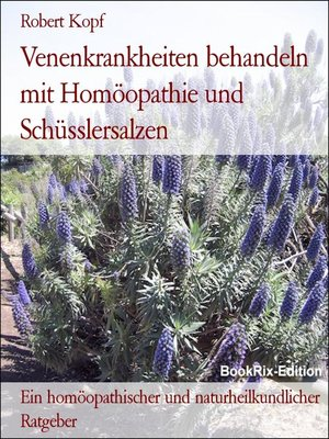 cover image of Venenkrankheiten behandeln mit Homöopathie und Schüsslersalzen