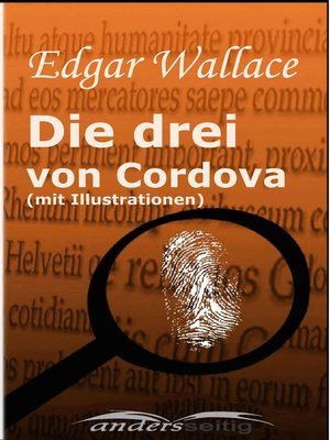 cover image of Die drei von Cordova (mit Illustrationen)