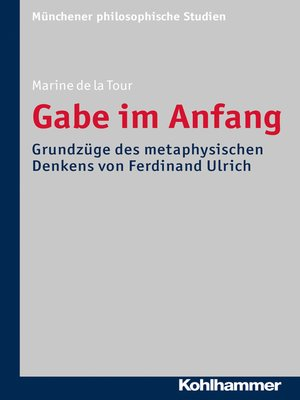 cover image of Gabe im Anfang