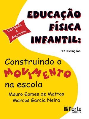cover image of Educação física infantil