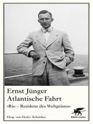 cover image of Atlantische Fahrt
