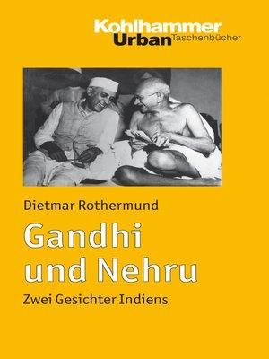 cover image of Gandhi und Nehru