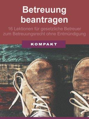 cover image of Betreuung beantragen