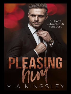 cover image of Pleasing Him