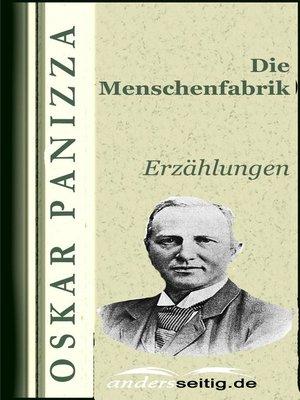 cover image of Die Menschenfabrik