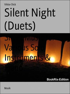 cover image of Silent Night (Duets)