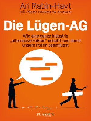 cover image of Die Lügen-AG