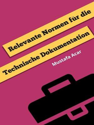 cover image of Relevante Normen für die Technische Dokumentation