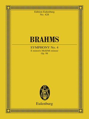 cover image of Symphony No. 4 E Minor