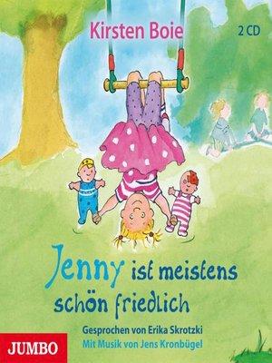 cover image of Jenny ist meistens schön friedlich
