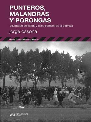 cover image of Punteros, malandras y porongas