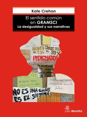 cover image of El sentido común en Gramsci