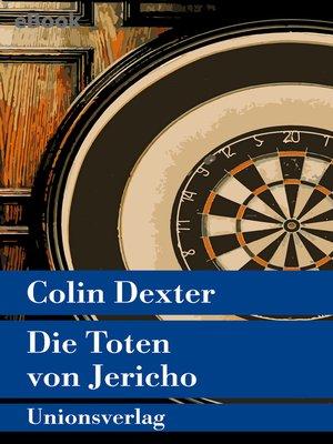 cover image of Die Toten von Jericho