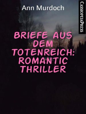 cover image of Briefe aus dem Totenreich