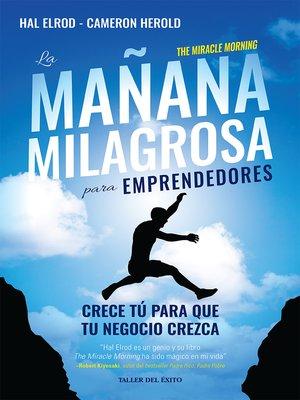 cover image of La mañana milagrosa para emprendedores