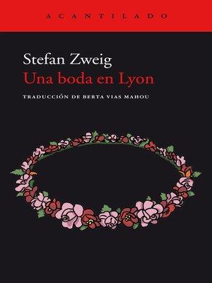 cover image of Una boda en Lyon