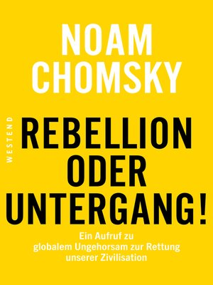 cover image of Rebellion oder Untergang!
