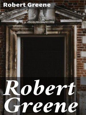 cover image of Robert Greene