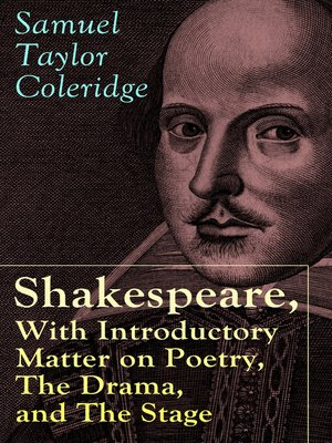 cover image of Shakespeare, With Introductory Matter on Poetry, the Drama, and the Stage by S.T. Coleridge