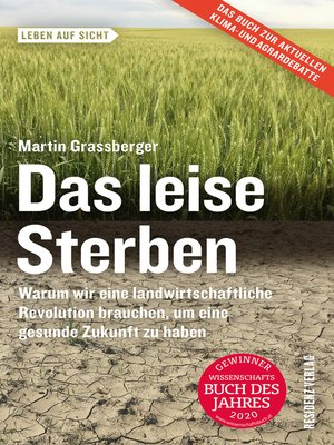 cover image of Das leise Sterben