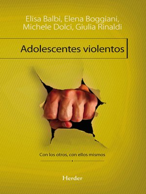 cover image of Adolescentes violentos