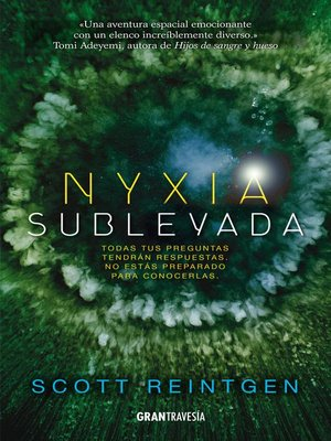 cover image of Nyxia sublevada