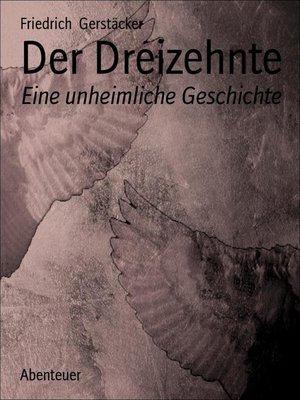 cover image of Der Dreizehnte