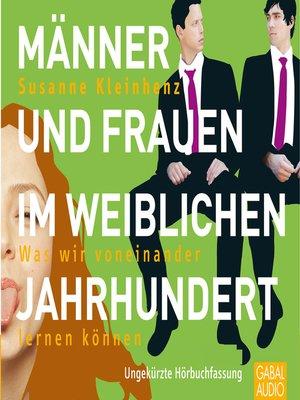 cover image of Männer und Frauen im weiblichen Jahrhundert