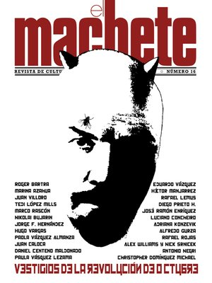 cover image of El Machete, 16