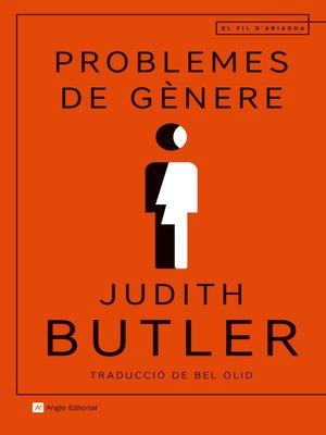 cover image of Problemes de gènere