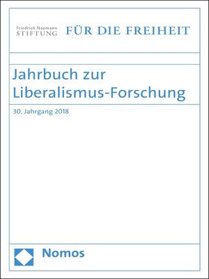 cover image of Jahrbuch zur Liberalismus-Forschung