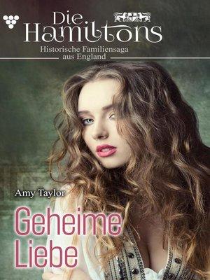 cover image of Die Hamiltons 1 – Historischer Familienroman