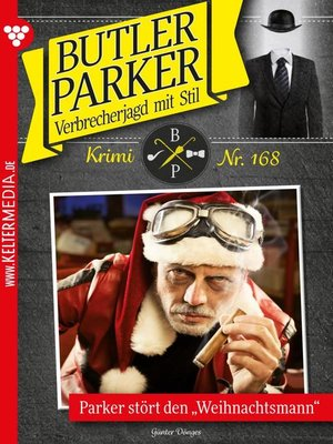 cover image of Butler Parker 168 – Kriminalroman