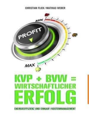 cover image of Energieeffizienz und Einkauf / Kostenmanagement