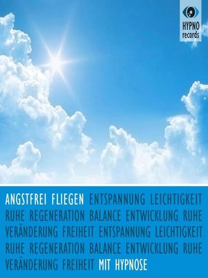 cover image of Angstfrei fliegen mit Hypnose