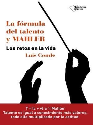 cover image of La fórmula del talento y MAHLER