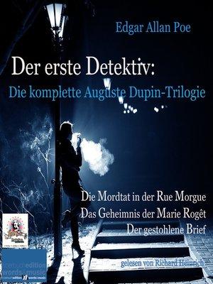 cover image of Der erste Detektiv