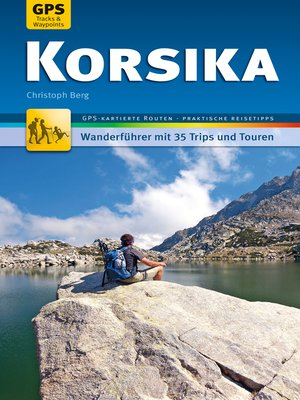 cover image of Korsika Wanderführer Michael Müller Verlag
