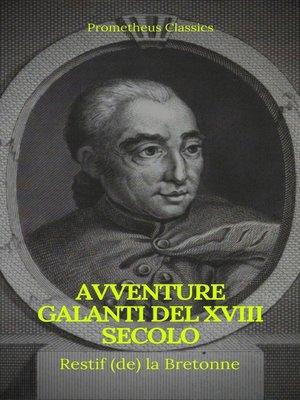 cover image of Avventure galanti del XVIII secolo (Indice attivo)