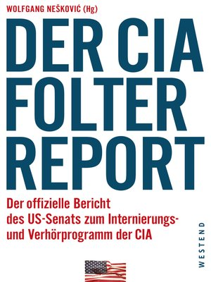 cover image of Der CIA-Folterreport