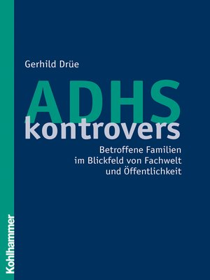 cover image of ADHS kontrovers