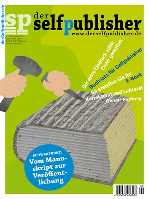 cover image of der selfpublisher 2, 2-2016, Heft 2, Juni 2016