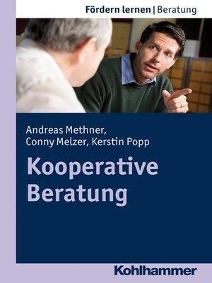 cover image of Kooperative Beratung