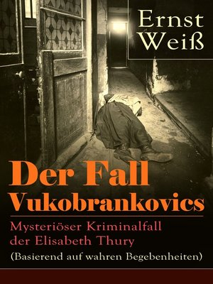 cover image of Der Fall Vukobrankovics