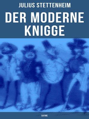 cover image of Der Moderne Knigge (Satire)