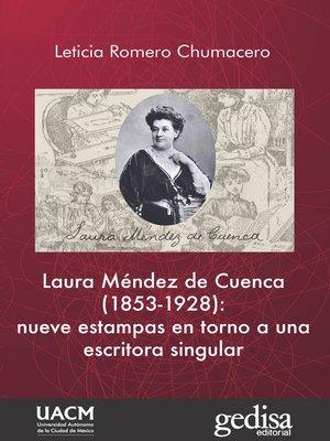cover image of Laura Méndez de Cuenca (1853-1928)