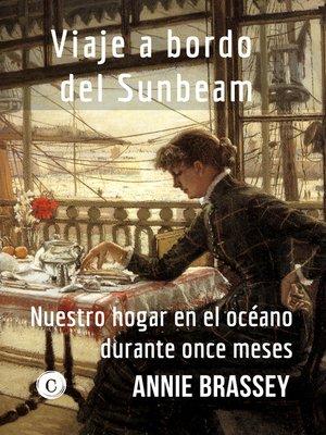 cover image of Viaje a bordo del Sunbeam