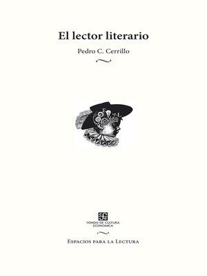 cover image of El lector literario
